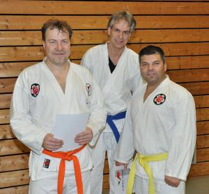 Karate-Prüfung